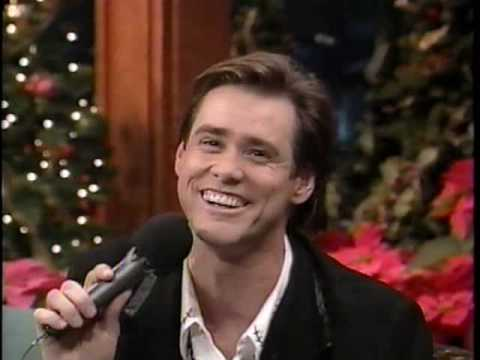 Funny Christmas Video - Jim Carrey does his best to 'sing' White Christmas. Hysterical Christmas clip!!