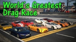 GT5丨World's Greatest Drag Race丨3KM丨SSRX
