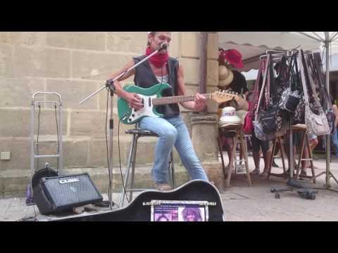 Didier: Great guitarist singer Didier street artist:  ...