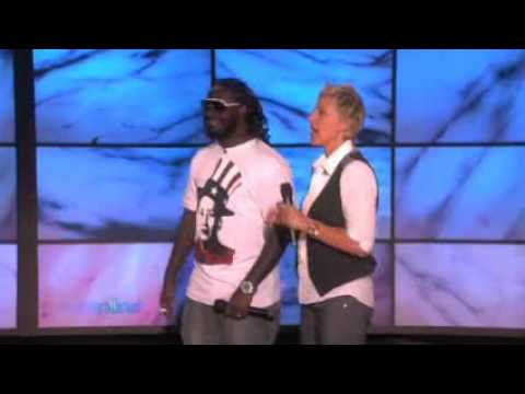 Ellen Auto-Tuning with T-Pain!