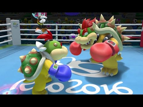 Mario & Sonic at the Rio 2016 Olympic Games – Boxing (Gameplay with All Characters)