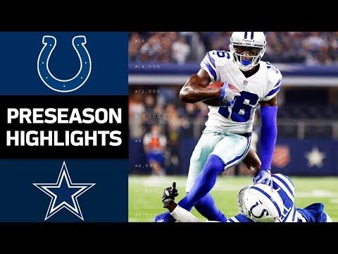 Colts vs. Cowboys | NFL Preseason Week 2 Game Highlights - Thời lượng: 8:40.