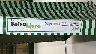 VÍDEO: Agricultura Familiar comercializa produtos em feira livre na Cidade Administrativa