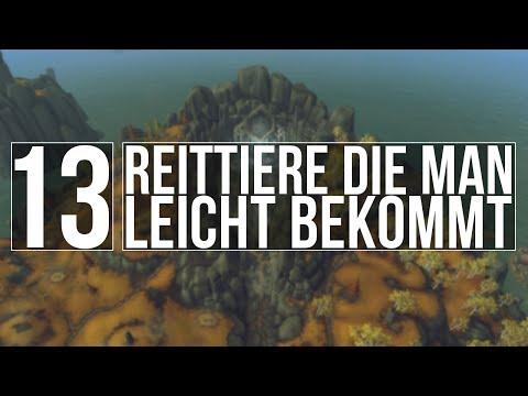 [Mount Guide Special] - 13 Reittiere die man leicht bekommt - [Deutsch] (видео)