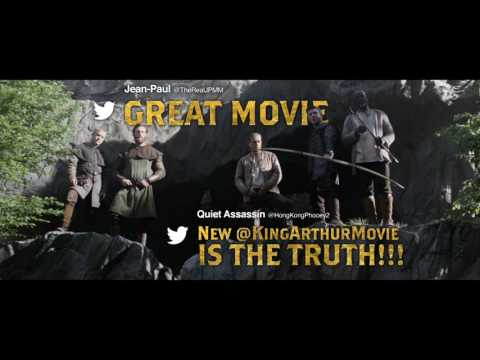 King Arthur: Legend of the Sword (TV Spot 'Streets Tweet Review')