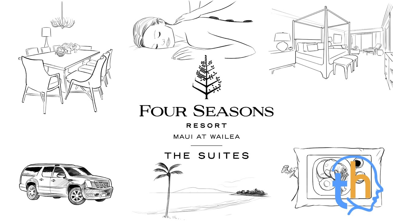 Whiteboard Sketch - Four Seasons Maui