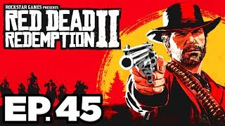 Red Dead Redemption 2 Ep.45 - FREE LIQUOR! ADVERTISING, THE NEW AMERICAN ART (Gameplay / Let's Play)
