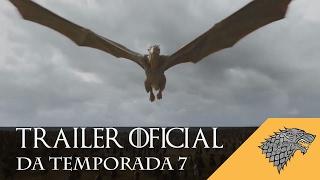 Apenas um dia depois de liberar o primeiro poster oficial, a HBO divulgou o primeiro trailer oficial da temporada 7 de Game Of Thrones! Repleto de cenas ...