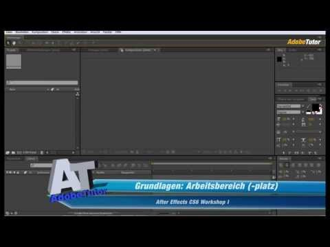 After Effects Workshop - Grundlagen: Arbeitsbereich