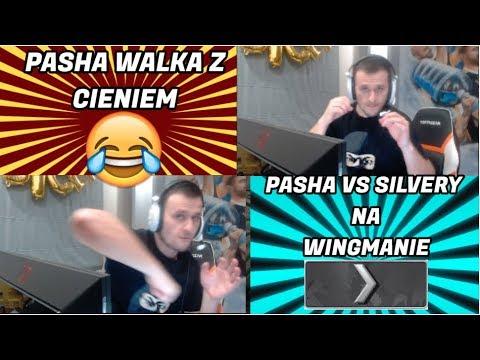 PASHABICEPS GRA PIERWSZY RAZ WINGMANA NA SILVERY !!! | PASZA WALKA Z CIENIEM😂 | dycha 1 vs 5