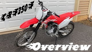 6. NEW HONDA CRF250F OVERVIEW AND FIRST IMPRESSIONS!