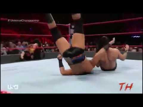 Roman Reigns vs Seth Rollins vs Kevin Owens vs Big Cass - Raw Highlights (RR) Yostin bautista
