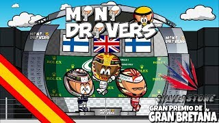¡Hemos vuelto! La nueva temporada de MiniDrivers ya está en marcha y los mejores resúmenes de la temporada están a tu alcance con el único humor de tus personajes favoritos.El campeonato está que arde después del GP de Gran Bretaña. Lewis Hamilton logró la victoria en Silverstone en una carrera en la que ambos Ferrari sufrieron un pinchazo, perdiendo Kimi la 2ª posición y Sebastian Vettel toda la ventaja que tenía frente a Lewis en el mundial. Disfruta de los mejores momentos de la carrera con tus personajes favoritos. - - - - - - - - - - - - - - - - - - - - - - - - -- - - MOTORSPORT.COM  - - - - - - - - - - - - - - - - - - - - - - - - - - - - -Todas las novedades del motor en la web del patrocinador oficial de los MiniDrivers, Motorsport.com. Síguelos en su página web, twitter o Facebook. WEB: http://www.es.motorsport.comTWITTER: https://twitter.com/es_MotorsportFACEBOOK: https://www.facebook.com/motorsportcom.espana/- - - - - - - - - - - - - - - - -- - - SÍGUENOS  - - - - - - - - - - - - - - - - - - - - -MiniDrivers - F1: https://www.facebook.com/officialminidrivers/MiniBikers - MotoGP: https://www.facebook.com/officialminibikersMinEDrivers - Formula E : https://www.facebook.com/officialminedriversMindyDrivers - Indycar: https://www.facebook.com/mindydrivers/TWITTEREnglish: https://twitter.com/officialminisEspañol:https://twitter.com/officialminisESTELEGRAMChannel: https://telegram.me/officialminisGroup: https://telegram.me/officialministelegram- - - - - - - - - - - - - - - - - - - - VIDEOGAME - - -- - - - - - - - - - - - - - - - - MINIDRIVERS - VIDEOGAMEiOS: https://itunes.apple.com/app/id873538439?mt=8Android: https://play.google.com/store/apps/details?id=com.minidrivers.formula1.comOSX: https://itunes.apple.com/us/app/minidrivers-game-mini-racing/id994431876?mt=12Steam: http://store.steampowered.com/app/385490/MINIBIKERS - VIDEOGAMEiOS: https://itunes.apple.com/app/id1015922561?mt=8Android: https://play.google.com/store/apps/details?id=com.miniBikers.bikesOSX: https://itunes.apple.com/app/id1022820730?mt=12Steam: http://store.steampowered.com/app/416350/