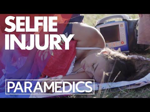 Girl falls off cliff when taking a selfie | Paramedics 2020