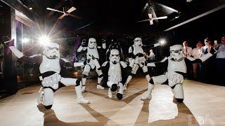 BEST EVER STAR WARS FIRST DANCE - Boogie Storm Bride and Groom Wedding Dance Storm Troopers