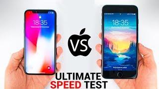 Video iPhone X vs iPhone 8 Plus - The ULTIMATE SPEED TEST MP3, 3GP, MP4, WEBM, AVI, FLV November 2017