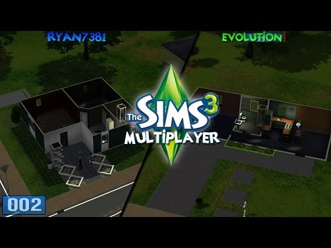 Sims 3 with Ryan7381 - Multiplayer - 'Moving In!' #2