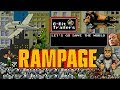 RAMPAGE (2018) 8-Bit Trailers, Dwayne Johnson monster movie