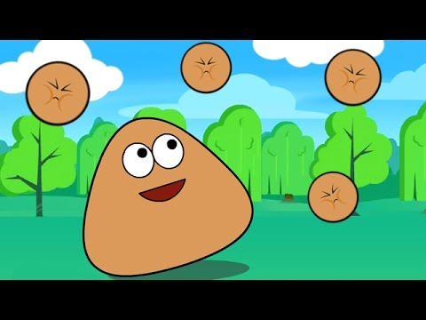 Pou Baby Cartoon - Pou Baby Games For Kids