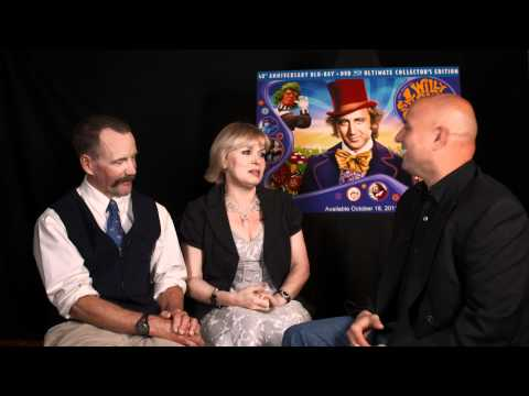 chuckthemovieguy - Chuck the Movieguy interviews Peter Ostrum who played Charlie Bucket and Julie Dawn Cole who played Veruca Salt for the 40th anniversary of Willy Wonka and t...