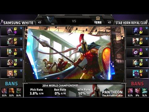 Lol - Final G4 Samsung White vs Star Horn Royal Club S4 Worlds LOL G4 Grand finals | SHRC vs SSW 2014 Grand-Final Game 4 SSW vs SHRC Full game VOD | S4 Grand Final Star Horn Royal Club vs ...