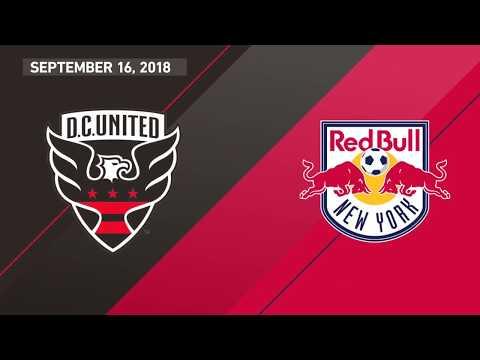 HIGHLIGHTS: D.C. United vs. New York Red Bulls | 09/16/18