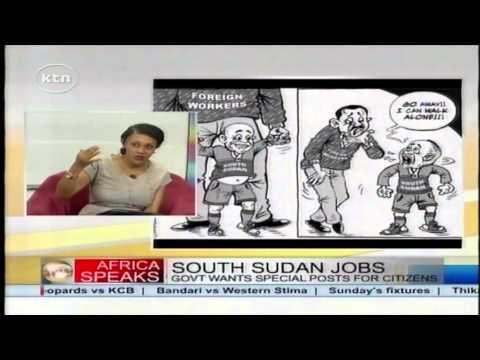 South sudan - Africa Speaks: South Sudan employment Watch KTN Live http://www.ktnkenya.tv/live Follow us on http://www.twitter.com/ktnkenya Like us on http://www.facebook....
