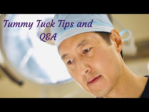 Tummy Tuck Tips (For Before, During, and After Surgery) and Q & A!