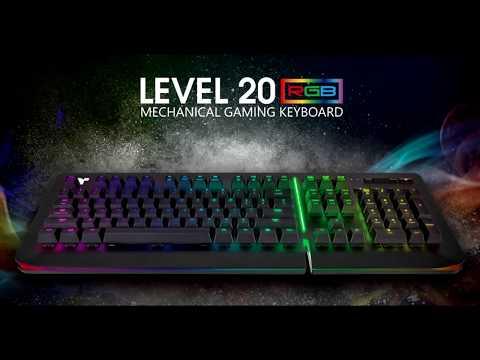 анонсирована клавиатура thermaltake rgb razer green level