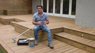 The Home Team S3 - How to Restain a Weathered Deck