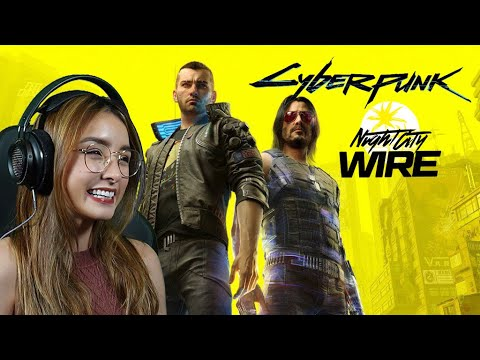 Cyberpunk 2077 Night City Wire Episode 3 Livestream Reaction 4K + What We Know - Weapons & Lifepaths