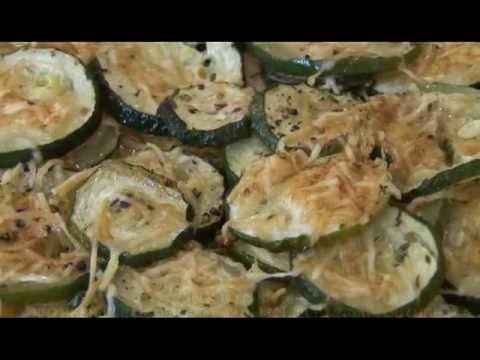 "In The Skillet ...""Baked Zucchini"""