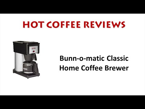 Bunn-o-matic Classic Home Coffee Maker Review