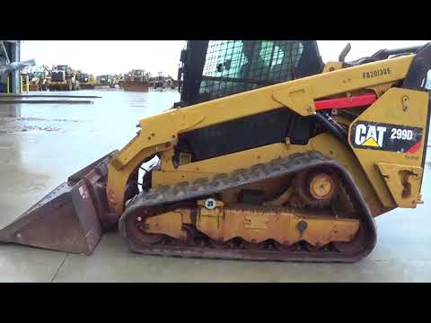 CATERPILLAR UNIWERSALNE ŁADOWARKI 299D2 equipment video OveOuY7mVc0