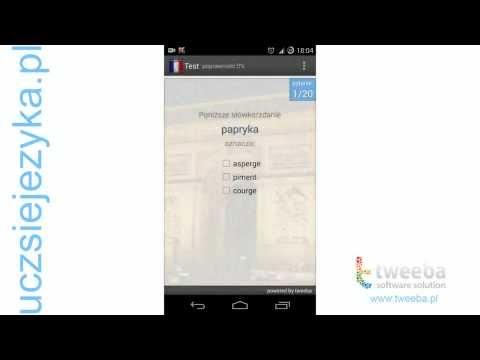 Video of Ucz się języka Francuskiego