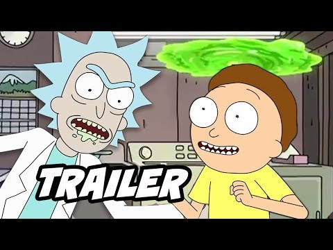 Rick and Morty Season 4 Teaser - Season 4 Episode 1 Early Release Date Breakdown