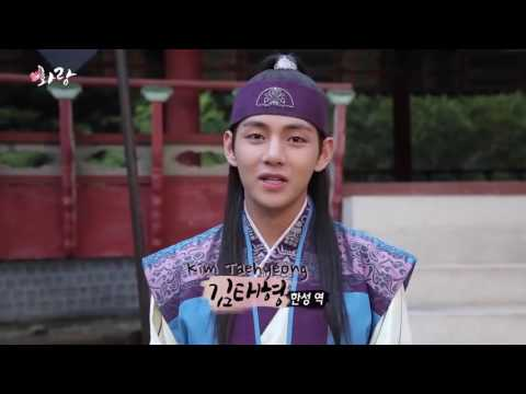 Bts V last shooting in Hwarang