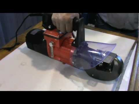 TW19 Electric Hydraulic Pre Stressed Cable Cutting Demo