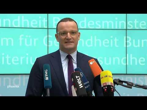 Gesundheitsminister Spahn zum Pflegepersonal-Stärkungsgesetz am 01.08.18