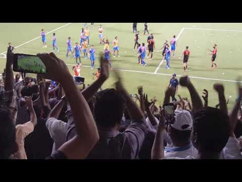 Electrifying Celebrations after India's draw against Qatar | FIFA  2022 Qualification Round