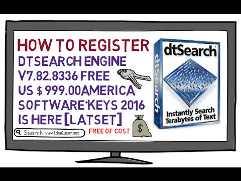 DtSearch Engine v7.82.8336 Free US $ 999.00 America Software+Keys 2016 is Here [LATSET]