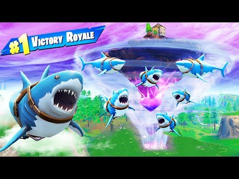 The SHARKNADO in Fortnite Battle Royale