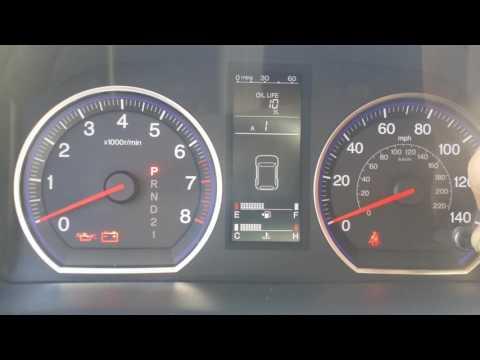 2008 Honda CRV Oil Life Reset | Skelton & Co.