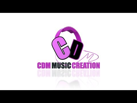 (CDM Music Creation's New 3D logo loop - Duration: 10 seconds.)