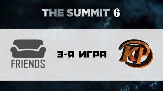 Friends vs Kaipi #3 (bo3) | The Summit 6, 12.10.16