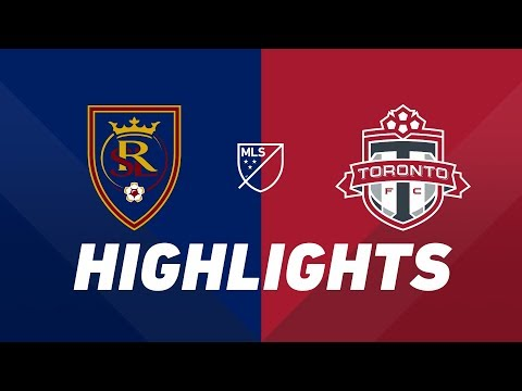 Real Salt Lake Vs. Toronto FC | HIGHLIGHTS - May 18, 2019