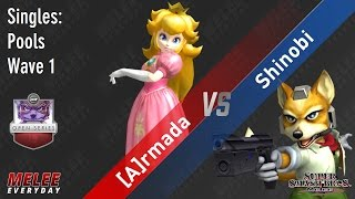 Video UGC Smash Open - [A] Armada (Peach) vs. Shinobi (Fox) - SSBM - Singles, Pools Wave 1 MP3, 3GP, MP4, WEBM, AVI, FLV Februari 2018