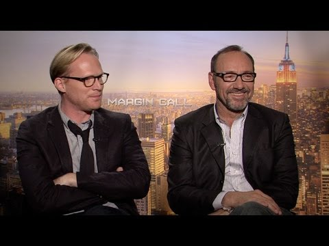 Paul Bettany - http://www.hollywood.com Paul Bettany and Kevin Spacey discuss working on the film 'Margin Call'.
