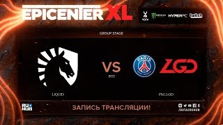 Liquid vs PSG.LGD, EPICENTER XL, game 1 [Maelstorm, Jam]