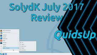 Looking at the KDE Release of SolydXK which is called SolydK and is based on Debian Stretch. The Linux Kernel 4.9 failed to work properly with my AMD Ryzen 1800X and I was stuck with just one CPU core.It appears as though the development team are struggling and are using more stock components nowadays, rather than their unique custom apps.Website: https://solydxk.com/Please help support my channel: https://quidsup.net/donateGoogle+ https://google.com/+quidsupTwitter: https://twitter.com/quidsupMinds: https://www.minds.com/quidsup